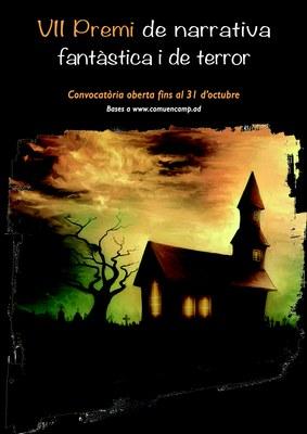 Els residents a l'Alt Urgell i la Cerdanya també poden participar al VII Premi de narrativa fantàstica i de terror
