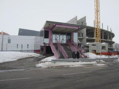 En marxa les obres de remodelació de la passarel·la del Centre esportiu del Pas de la Casa
