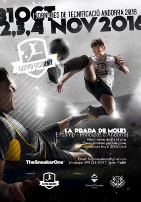 Encamp acollirà les primeres Jornades de Tecnificació de futbol d'Andorra