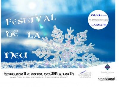 """Encamp acull aquest dissabte el Festival de Neu, destinat al projecte 'Vacances en pau"""""""