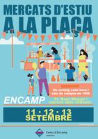 Encamp allarga la temporada d'estiu amb el mercat d'artesania i productes locals aquest cap de setmana