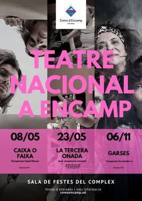 Encamp amplia l'oferta cultural amb un cicle de teatre nacional i repetint experiència amb la Saison Culturelle de l'ambaixada francesa