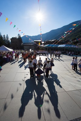 Encamp celebra el 20è aniversari com a ciutat pubilla de la sardana