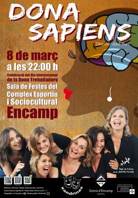 Encamp celebrarà el Dia de la dona treballadora amb l'obra 'Dona sàpiens'
