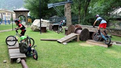Encamp inaugura un circuit de bicitrial al parc del Prat Gran