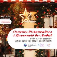Concurs Aparadors i Decoració de Nadal