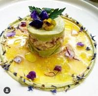 Imatge d'un dels plats que realitza Pili Borra