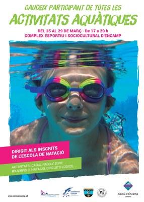 Encamp presenta la quarta Setmana d'activitats aquàtiques