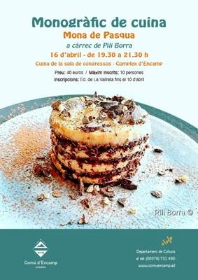 Encamp proposa un monogràfic de cuina pel mes d'abril