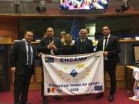 Encamp recull la distinció com a Vila Europea de l'Esport 2020 a Brussel·les