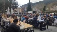 Encamp reedita una nova i multitudinària festa de l'Escudella amb la distribució de 2000 racions
