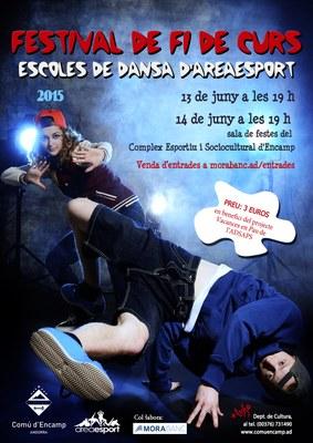 Es posen a la venda les entrades per al festival de fi de curs de les escoles de dansa d'Areaesport