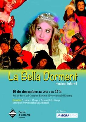 Es posen a la venda les entrades per al musical infantil ʻLa Bella Dorment'