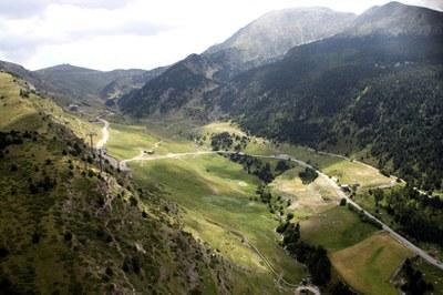 Final mític de La Vuelta als Cortals d'Encamp