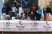 Xavier Jové amb Gares i Sabrina Solana amb Loud guanyadors de la II edició de la OTSO Trail Dog d'Encamp