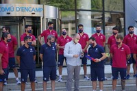 Recepció Barça Hoquei Encamp