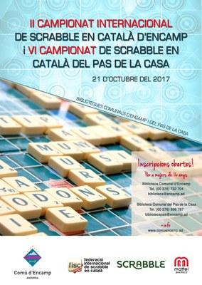 L'Scrabble torna a Encamp i al Pas de la Casa