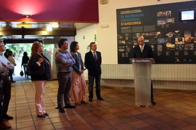 L'entrega de premis de l'EFIM tanca a Encamp les Jornades europees del patrimoni