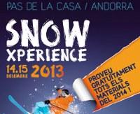 L'Snow Xperience torna al Pas de la Casa el cap de setmana del 14 i el 15 de desembre