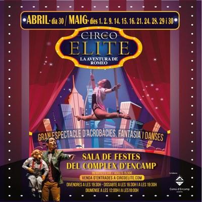 La aventura de Romeo del Circo Elite arriba a Andorra durant el mes de maig
