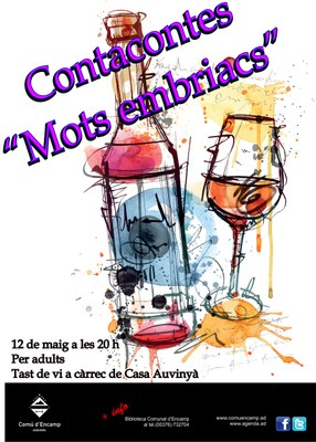 La Biblioteca Comunal d'Encamp presenta Mots Embriacs i l'Origen del vi