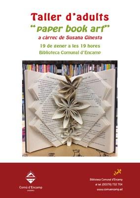 La biblioteca d'Encamp ofereix aquest divendres un taller de 'paper book art'