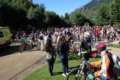 La Bicicletada d'Encamp 2013 aplega més de 300 ciclistes per promoure la mobilitat sostenible