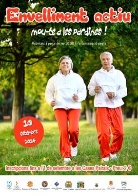 La gimcana per a la gent gran arriba a Encamp en el marc del programa d'envelliment actiu