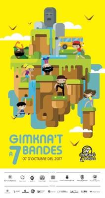 La Gimkna't a 7 bandes 2017 se centra en el malbaratament alimentari