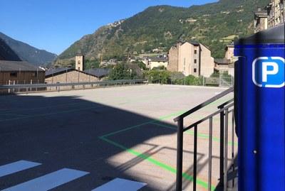 La zona del Pedral disposa a partir d'avui de 34 noves places d'aparcament de zona verda