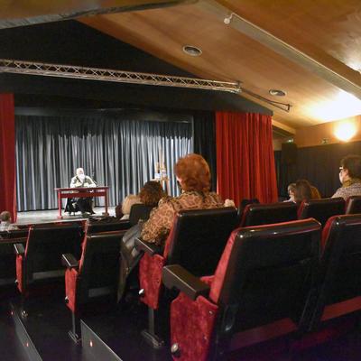 Rafel Nadal explica com neixen les històries d'alguns dels seus llibres a Encamp