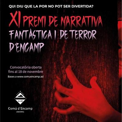 Oberta la convocatòria al XI Premi de narrativa fantàstica i de terror d'Encamp