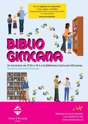 Obertes les inscripcions per a la Biblio gimcana