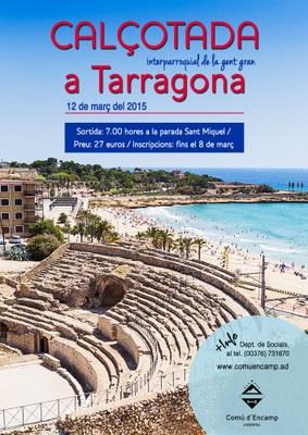 Obertes les inscripcions per a la sortida a Tarragona de la gent gran