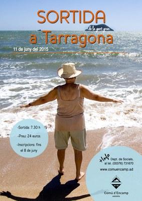 Obertes les inscripcions per a la sortida de la gent gran a Tarragona