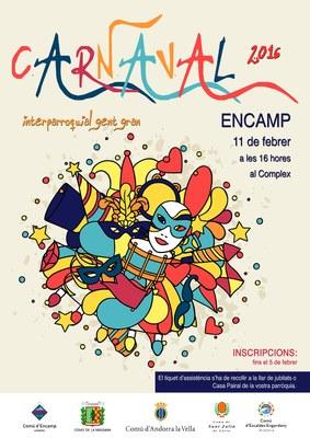 Obertes les inscripcions per participar en el Carnaval interparroquial de la gent gran a Encamp