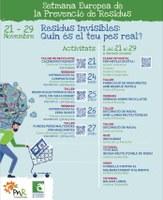 Cartell de la Setmana Europea de la Prevenció de Residus