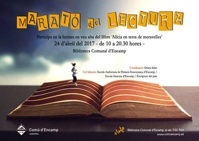 Per Sant Jordi, Encamp proposa la Marató de Lectura