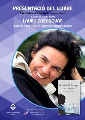 Presentació de la novel·la juvenil 'Un estiu a la fi del món' a Encamp