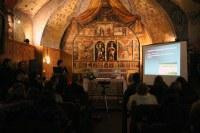 Presenten el retaule restaurat de la capella de Sant Miquel i Sant Joan Baptista de l'església de la Mosquera