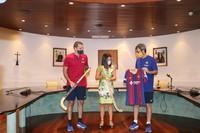 Pretemporada del Barça d'hoquei a Encamp