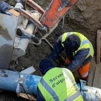 Restablert el subministrament d'aigua