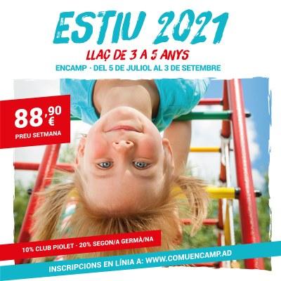 S'obren les inscripcions de les activitats d'estiu del Llaç per a infants de 3 a 5anys a Encamp
