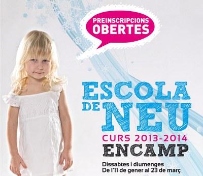 S'obren les inscripcions per al curs 2013-2014 de l'Escola de Neu d'Encamp