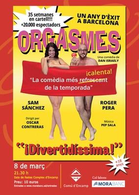 Sam Sánchez i Roger Pera portaran els seus 'Orgasmes' a Encamp per celebrar el Dia de la Dona