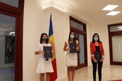 Signat el conveni amb Cultura i el Comú d'Ordino per a la candidatura a la UNESCO del ball de l'Ossa