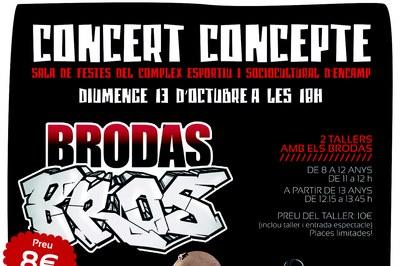 Surten a la venda les entrades per a l'espectacle 'Concert Concepte' dels Brodas Bros