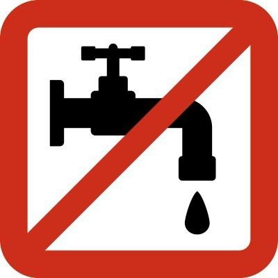 Tall del subministrament d'aigua potable dimecres 16 de setembre