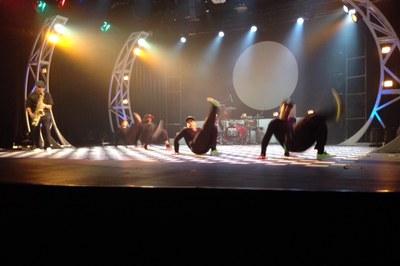 Tallers, música, dansa i diversió centren l'actuació dels Brodas Bros a Encamp