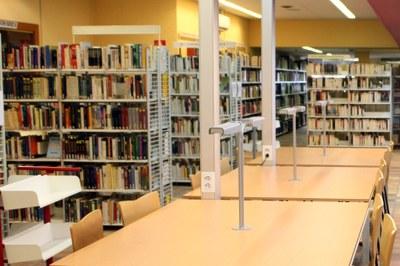 Tancament per manteniment de la biblioteca d'Encamp